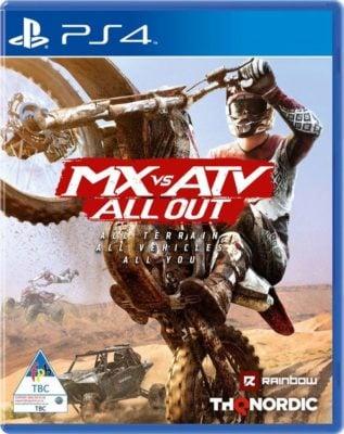 دانلود نسخه هک شده بازی MX vs ATV All Out برای PS4
