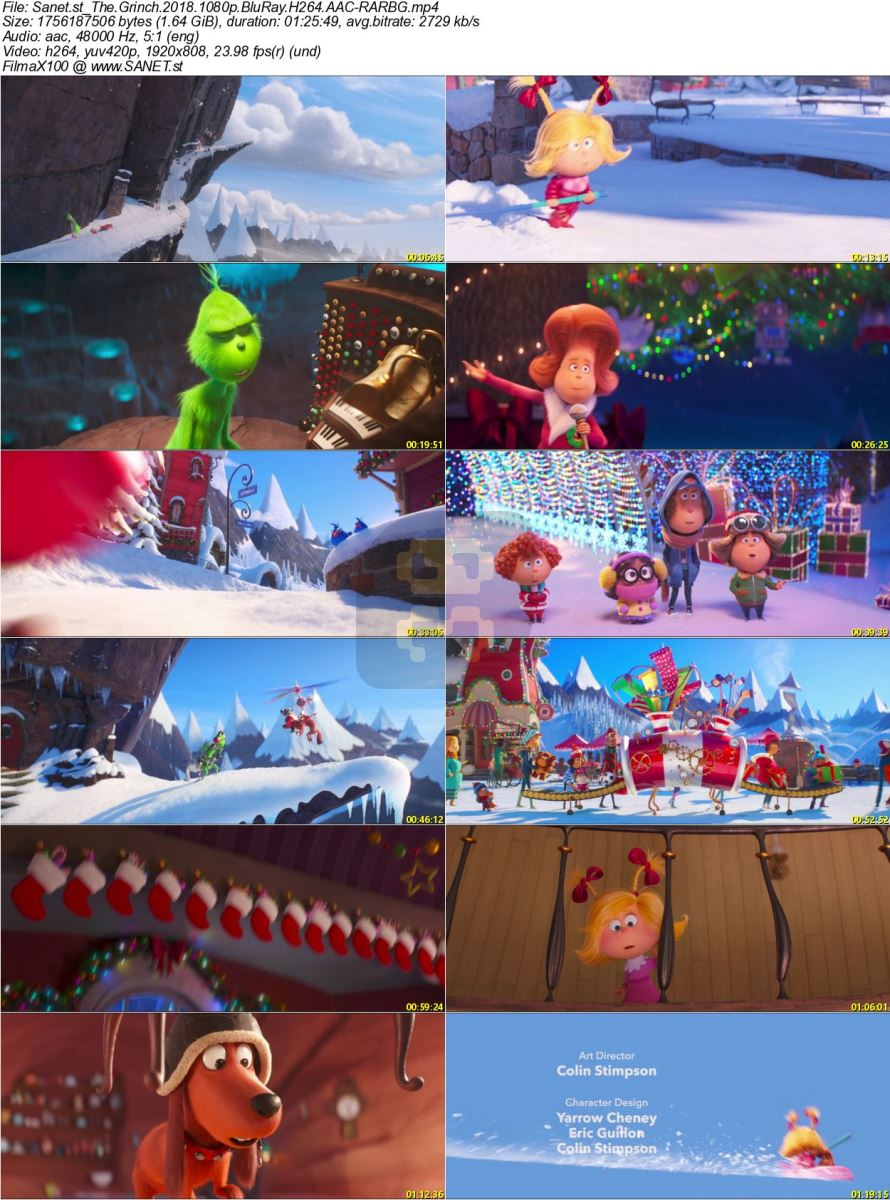 The Grinch 2018 Animation With Direct Link + Subtitle Persian 2019-01-25