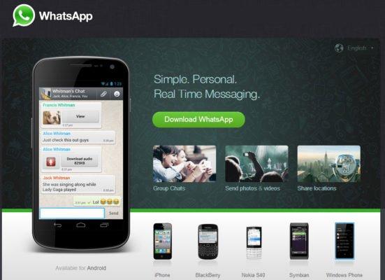 دانلود WhatsApp Messenger v2.19.252 - جدیدترین نسخه مسنجر واتس اپ