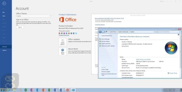 دانلود آفیس Microsoft Office 2019 Pro Plus v1901 + کرک