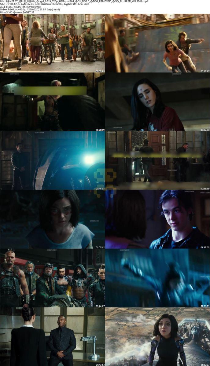 Alita Battle Angel 2019 Direct Link + Subtitle Persian