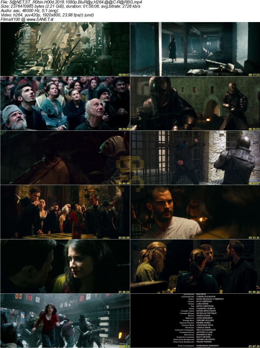 Robin Hood 2018 Movie With Direct Link + Subtitle Persian 2019-02-10