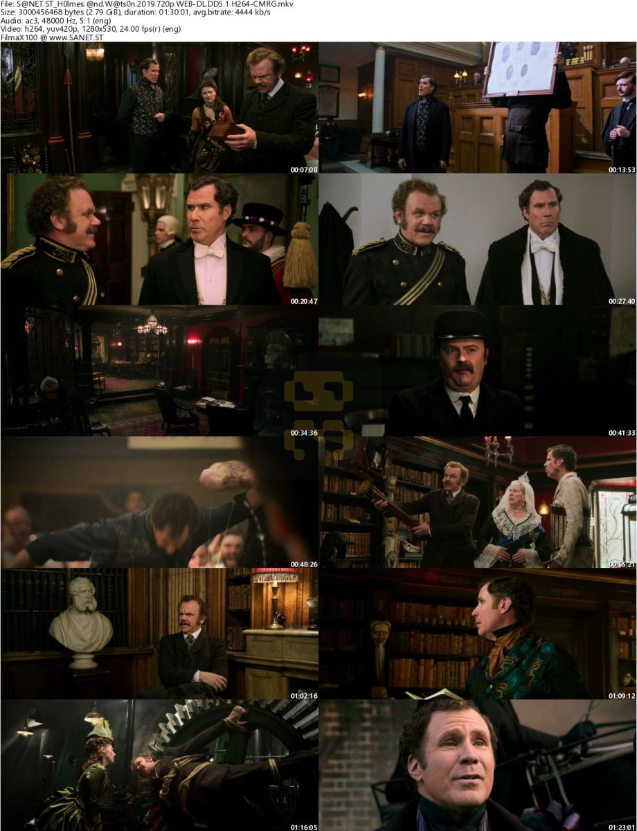 Holmes And Watson 2018 Movie With Direct Link 2019-03-11
