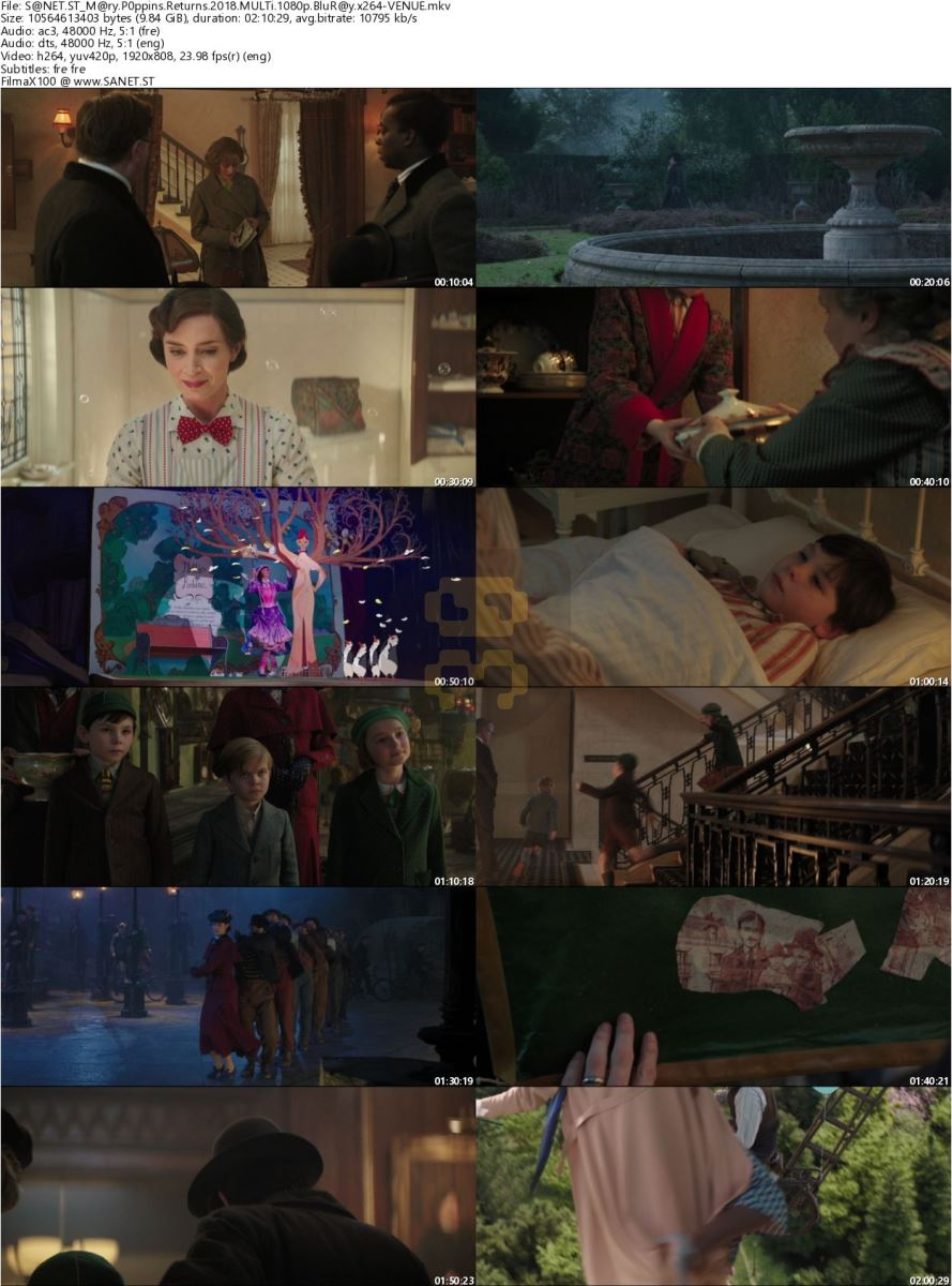 Mary Poppins Returns 2018 Movie + Persian Subtitles 2019-03-12