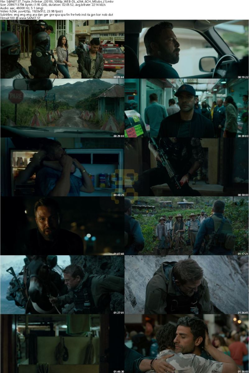 Triple Frontier 2019 Movie With Direct Link + Subtitle Persian