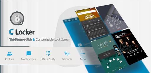 دانلود C Locker Pro v8.3.6.8 - سفارشی کردن لاک اسکرین اندروید