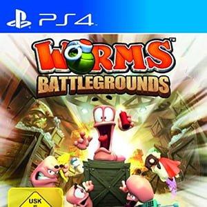 دانلود نسخه هک شده بازی Worms Battlegrounds برای PS4