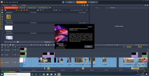 دانلود Pinnacle Studio Ultimate 24.0.2.219 - ویرایش فیلم و ویدئو با پیناکل استودیو