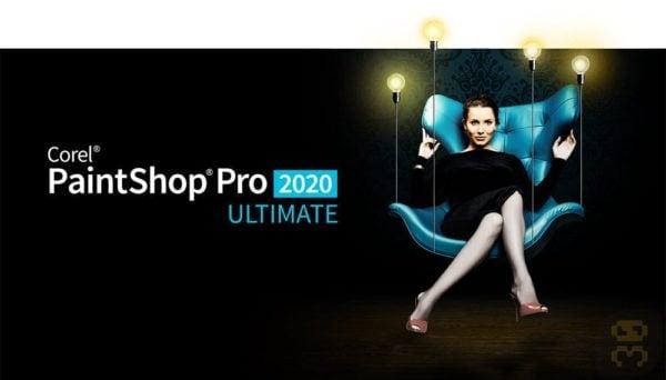 دانلود Corel PaintShop Pro 2020 Ultimate 22.0.0.132 - نرم افزار ویرایشگر عکس