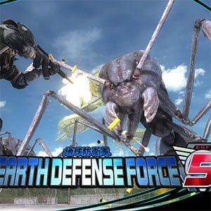 دانلود بازی EARTH DEFENSE FORCE 5 برای کامپیوتر + DLC
