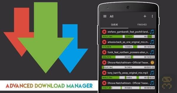 دانلود Advanced Download Manager Pro v10.0.9 b100009 - دانلود منیجر اندروید