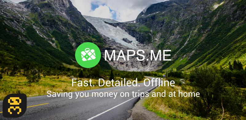 دانلود MAPS.ME — world offline map v9.3.1 - مسیر یاب آندروید