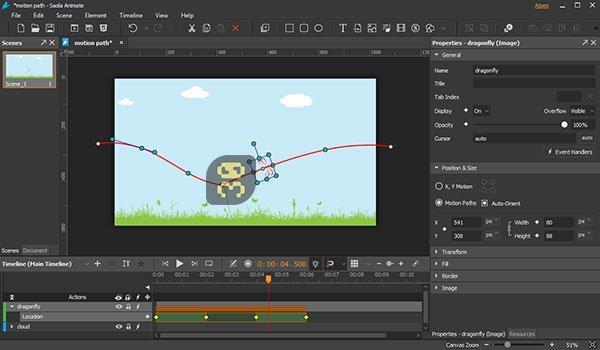 دانلود Saola Animate Pro 2.7.1 - ساخت انیمیشن های تحت وب HTML5