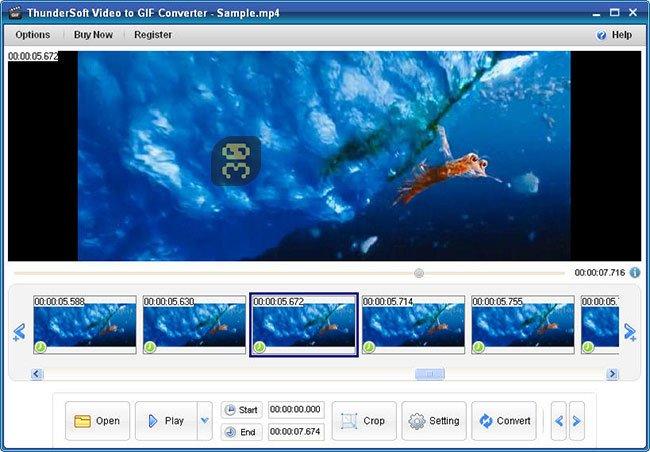 دانلود ThunderSoft GIF Maker 3.0.0.0 - ساخت تصاویر محترک GIF