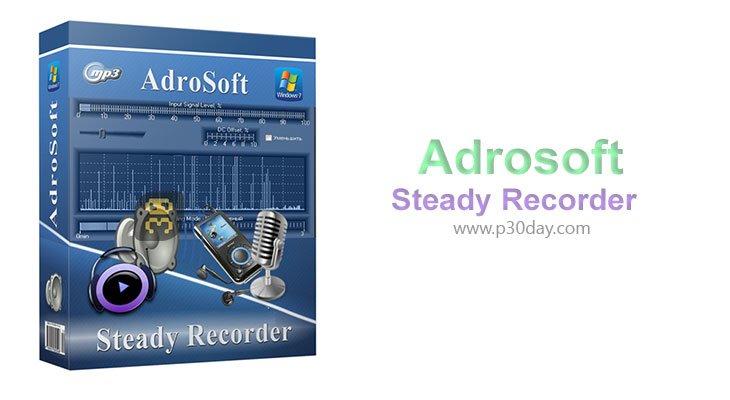 دانلود Adrosoft Steady Recorder 3.4.1 - ضبط کننده صوت دیجیتال