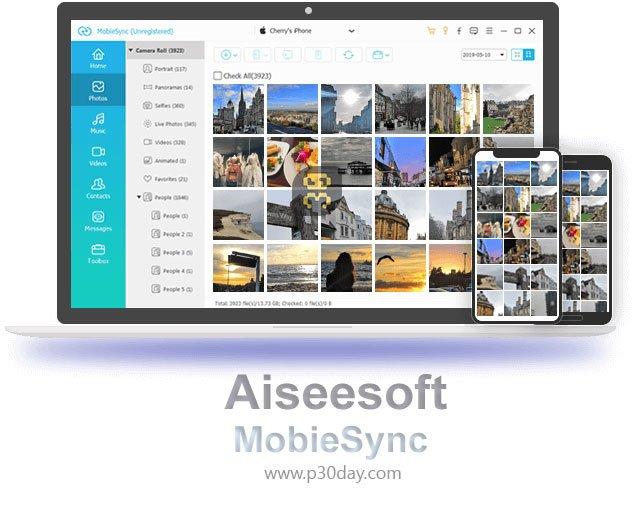 دانلود Aiseesoft MobieSync 2.0.32 - مدیریت فایل های iOS