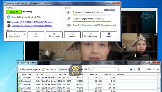 دانلود Amolto Call Recorder Premium for Skype 3.20.1.0 - ظبط تماس های اسکایپ