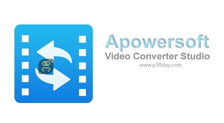 دانلود Apowersoft Video Converter Studio 4.8.4.24 -  مبدل پیشرفته فایل های ویدئویی