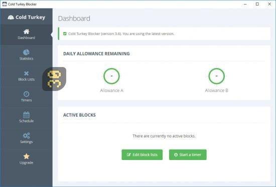 دانلود Cold Turkey Blocker Pro 3.10 - بلاک کننده صفحات اینترنتی