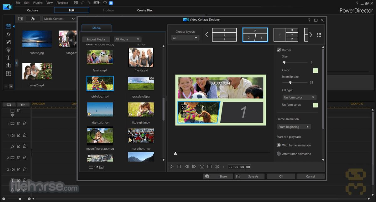 CyberLink PowerDirector Ultimate 18.0.2313.0 - Professional Video Production