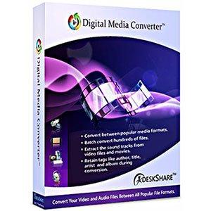 دانلود DeskShare Digital Media Converter 4.18 – تبدیل فایل های دیجیتالی