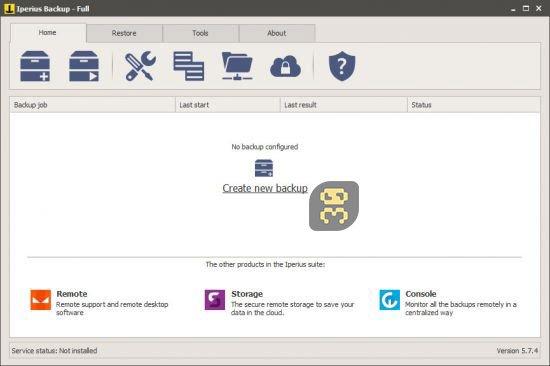 دانلود Iperius Backup Full 7.1.3 - بکاپ گیری آسان