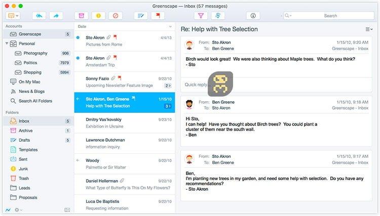 دانلود Postbox 7.0.34 - مدیریت ایمیل ها به صورت گروهی