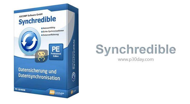 دانلود Synchredible Professional 6.002 - همگام سازی فایل ها و فولدر ها