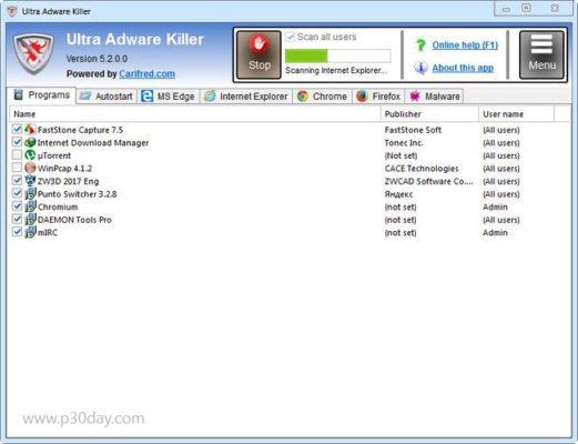 دانلود Ultra Adware Killer 9.0.0.0 - از بین برنده فایل های مخرب تبلیغاتی