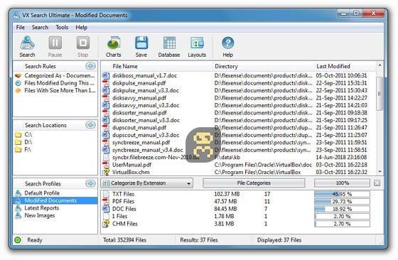 دانلود VX Search Ultimate / Enterprise / Pro 13.0.28 - جستجوگر پیشرفته هارد
