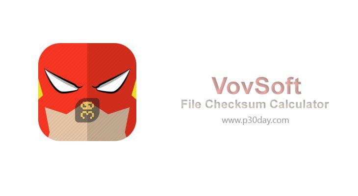 دانلود VovSoft File Checksum Calculator 1.4 - بررسی رمزنگاری هش
