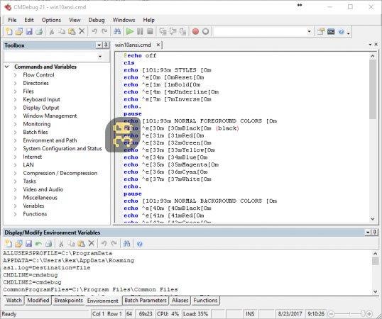 دانلودJP Software CMDebug 26.02.41 - رفع باگ های بچ