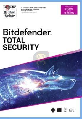 دانلود Bitdefender Total Security 22.0.21.297 - بسته امنیتی قدرتمند بیت دیفندر
