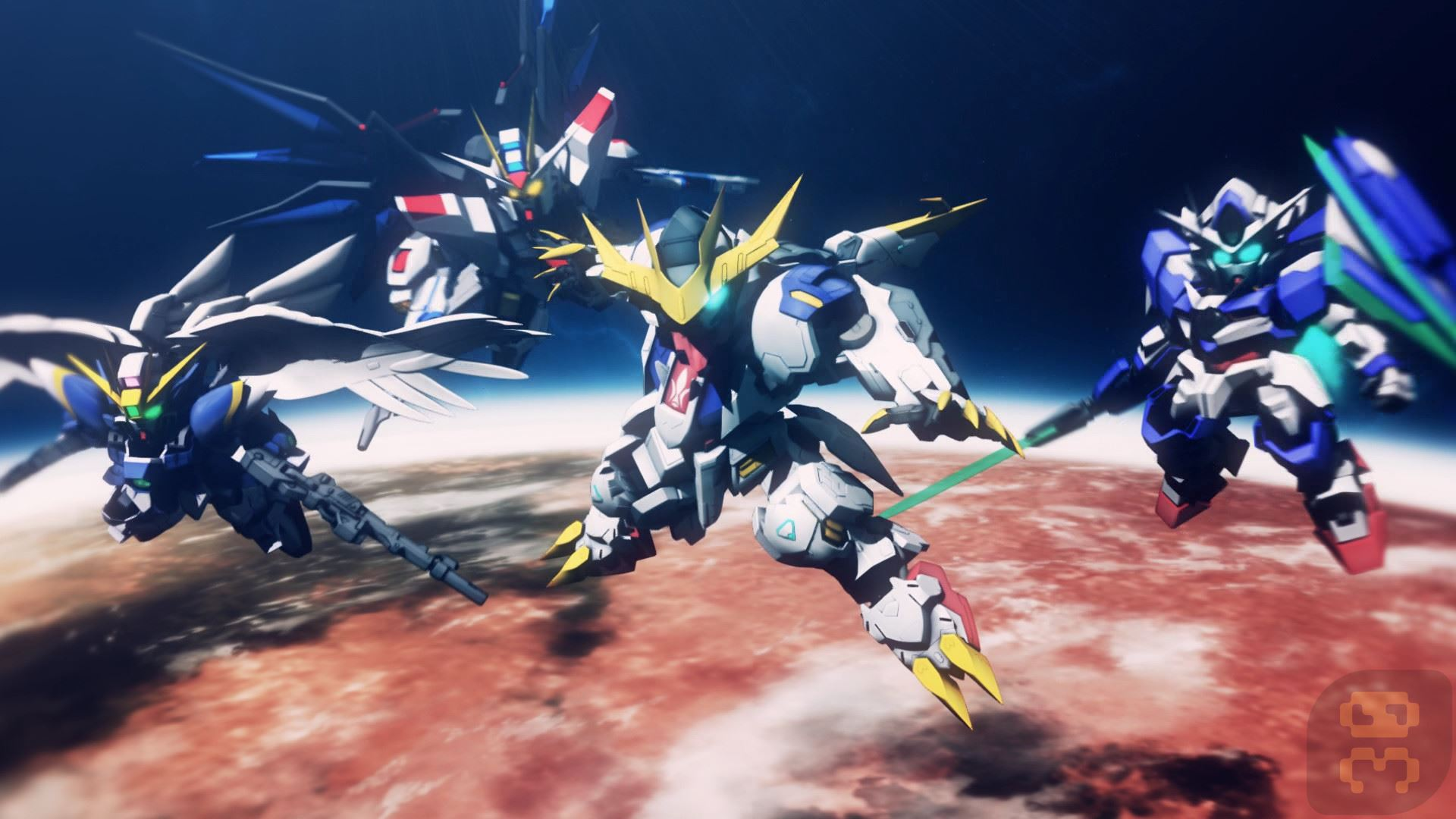 SD GUNDAM G GENERATION CROSS RAYS Game For PC