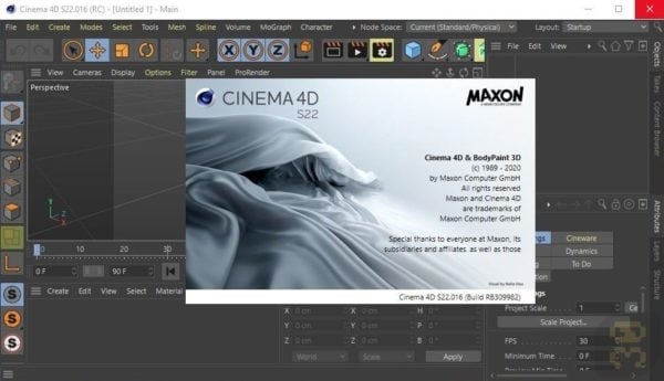 دانلود Maxon CINEMA 4D Studio S22.114 - طراحی حرفه ای سه بعدی