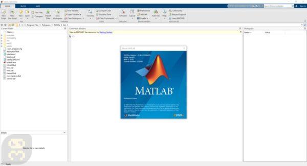 دانلود متلب MathWorks MATLAB R2020a v9.8.0.1417392 Update 4 + لایسنس معتبر