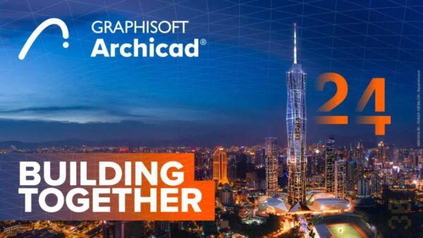 دانلود GRAPHISOFT ARCHICAD 24 Build 3008 - طراحی فضای 3 بعدی