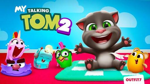 دانلود My Talking Tom 2 v2.1.1.1011 - بازی تام گربه سخنگو اندروید