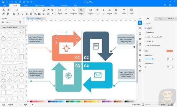 دانلود 4.EdrawSoft Edraw Max 10.0 - ابزار رسم نمودار