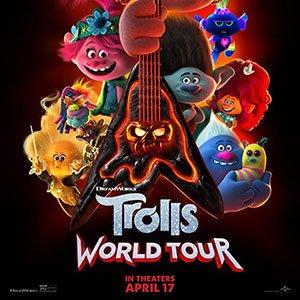 دانلود انیمیشن Trolls World Tour 2020 با زیرنویس فارسی + 4K