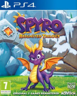 دانلود نسخه هک شده بازی Spyro Reignited Trilogy برای PS4
